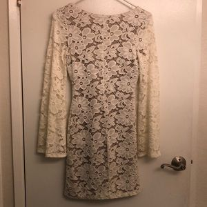 Charlotte Russe Dresses - White Lace Dress